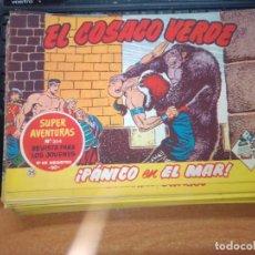 Tebeos: EL COSACO VERDE SUPER AVENTURAS Nº 25 AÑO 1960 ORIGINAL PRECIO RECORTADO VER FOTO. Lote 274240348