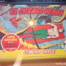 Tebeos: EL COSACO VERDE SUPER AVENTURAS Nº 24 AÑO 1960 ORIGINAL PRECIO RECORTADO VER FOTO. Lote 274240423