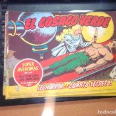 Tebeos: EL COSACO VERDE SUPER AVENTURAS Nº 23 AÑO 1960 ORIGINAL PRECIO RECORTADO VER FOTO. Lote 274240503