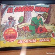 Tebeos: EL COSACO VERDE SUPER AVENTURAS Nº 22 AÑO 1960 ORIGINAL PRECIO RECORTADO VER FOTO. Lote 274240558