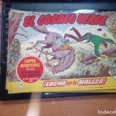 Tebeos: EL COSACO VERDE SUPER AVENTURAS Nº 110 AÑO 1960 ORIGINAL PRECIO RECORTADO VER FOTO. Lote 274240973