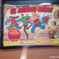 Tebeos: EL COSACO VERDE SUPER AVENTURAS Nº 107 AÑO 1960 ORIGINAL PRECIO RECORTADO VER FOTO. Lote 274241058