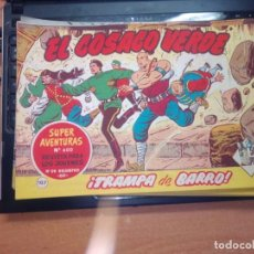 Tebeos: EL COSACO VERDE SUPER AVENTURAS Nº 107 AÑO 1960 ORIGINAL PRECIO RECORTADO VER FOTO. Lote 274241163