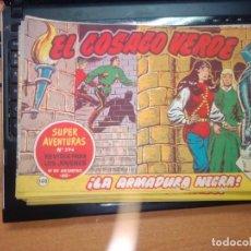 Tebeos: EL COSACO VERDE SUPER AVENTURAS Nº 105 AÑO 1960 ORIGINAL PRECIO RECORTADO VER FOTO. Lote 274241233