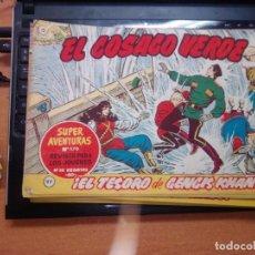 Tebeos: EL COSACO VERDE SUPER AVENTURAS Nº 97 AÑO 1960 ORIGINAL PRECIO RECORTADO VER FOTO. Lote 274241413