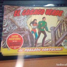 Tebeos: EL COSACO VERDE SUPER AVENTURAS Nº 78 AÑO 1960 ORIGINAL PRECIO RECORTADO VER FOTO. Lote 274241718