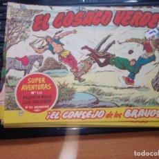 Tebeos: EL COSACO VERDE SUPER AVENTURAS Nº 77 AÑO 1960 ORIGINAL. Lote 274241798