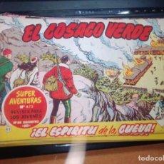Tebeos: EL COSACO VERDE SUPER AVENTURAS Nº 65 AÑO 1960 ORIGINAL PRECIO RECORTADO VER FOTO. Lote 274241868