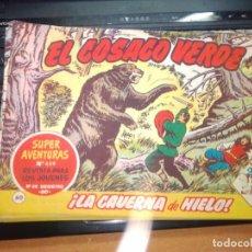 Tebeos: EL COSACO VERDE SUPER AVENTURAS Nº 60 AÑO 1960 ORIGINAL PRECIO RECORTADO VER FOTO. Lote 274242108