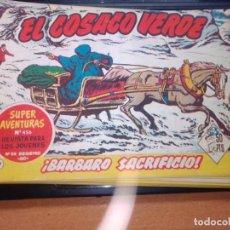 Tebeos: EL COSACO VERDE SUPER AVENTURAS Nº 59 AÑO 1960 ORIGINAL PRECIO RECORTADO VER FOTO. Lote 274242178
