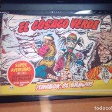 Tebeos: EL COSACO VERDE SUPER AVENTURAS Nº 58 AÑO 1960 ORIGINAL PRECIO RECORTADO VER FOTO. Lote 274242243