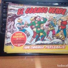 Tebeos: EL COSACO VERDE SUPER AVENTURAS Nº 57 AÑO 1960 ORIGINAL PRECIO RECORTADO VER FOTO. Lote 274242303