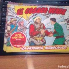 Tebeos: EL COSACO VERDE SUPER AVENTURAS Nº 56 AÑO 1960 ORIGINAL PRECIO RECORTADO VER FOTO. Lote 274242368