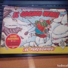 Tebeos: EL COSACO VERDE SUPER AVENTURAS Nº 54 AÑO 1960 ORIGINAL PRECIO RECORTADO VER FOTO. Lote 274242548