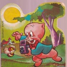 Tebeos: PORKY PIG EN LA SUERTE DE BUGS - HANNAH BARBERA, TROQUELADOS TELECOLOR BRUGUERA 1971. Lote 274332678