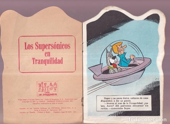 Tebeos: LOS SUPERSONICOS, EN TRANQUILIDAD - TROQUELADOS TELE COLOR BRUGUERA 1971 - Foto 2 - 274342333