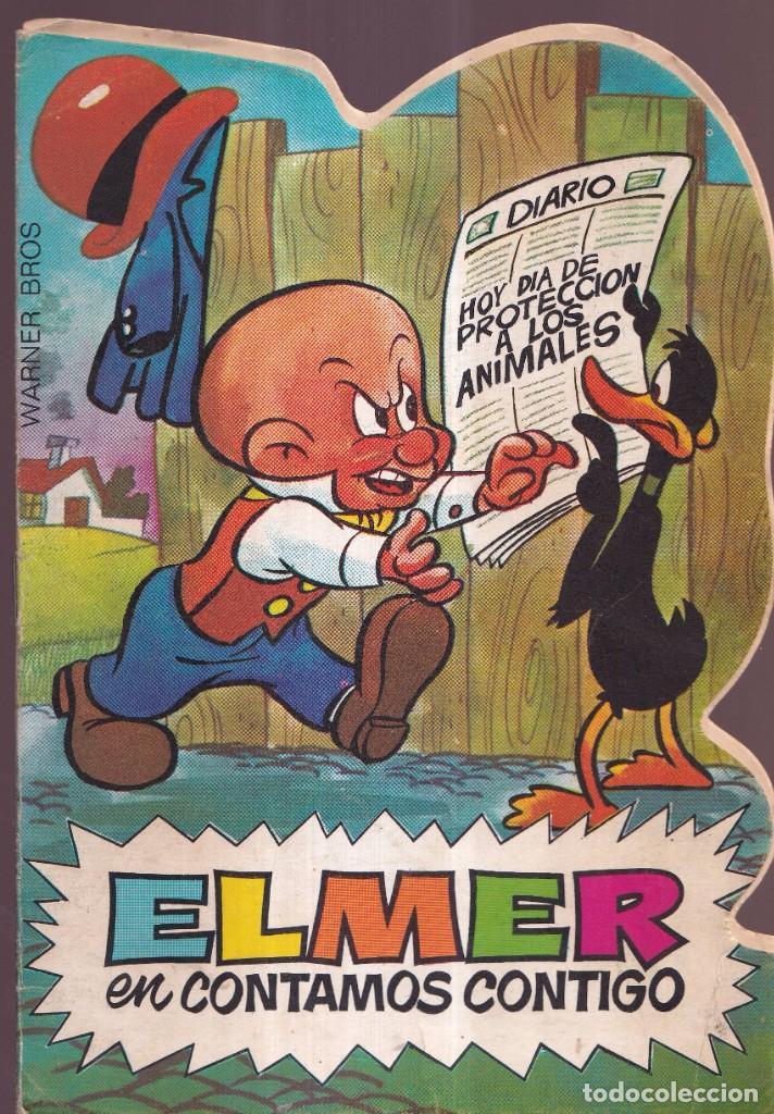 ELMER EN CONTAMOS CONTIGO - TROQUELADOS TELE COLOR BRUGUERA 1971 (Tebeos y Comics - Bruguera - Tele Color)