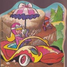 Tebeos: LOS AUTOS LOCOS EL TEMIBLE SUPER FERRARI - TROQUELADOS TELE COLOR BRUGUERA 1971. Lote 274367243