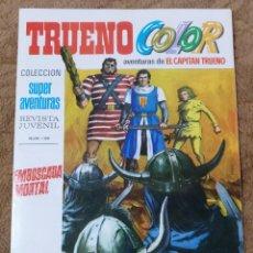 Tebeos: TRUENO COLOR Nº 28 (BRUGUERA 1ª EPOCA 1969) EMBOSCADA MORTAL.. Lote 274560033