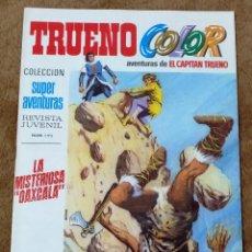 Tebeos: TRUENO COLOR Nº 21 (BRUGUERA 1ª EPOCA 1969) LA MISTERIOSA OAXCALA.. Lote 274561708