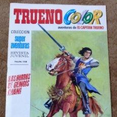 Tebeos: TRUENO COLOR Nº 6 (BRUGUERA 1ª EPOCA 1969) LAS HORDAS DE GENGIS KHAN.. Lote 274565443