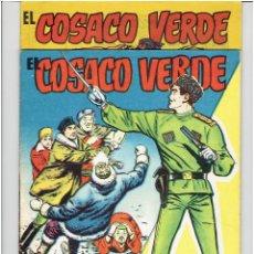 Tebeos: ARCHIVO * EL COSACO VERDE * ALMANAQUE 1961 + EXTRA VERANO * ED. BRUGUERA *. Lote 274728708