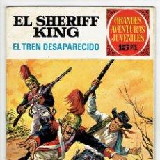 Tebeos: GRANDES AVENTURAS JUVENILES - EL SHERIFF KING - Nº 6 - EL TREN DESAPARECIDO - BRUGUERA 1971. Lote 274830368