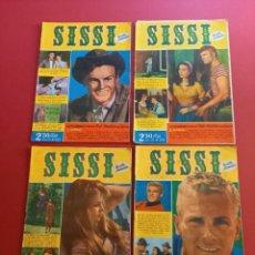 Tebeos: SISSI - NUMEROS 119-122-123-124. Lote 275060733