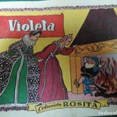BDs: VIOLETA. COL. ROSITA. N. 9. Lote 275091863