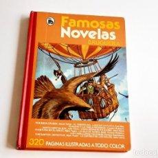 Tebeos: FAMOSAS NOVELAS - BRUGUERA - VOLUMEN V - 19 X 27.CM. Lote 275095213
