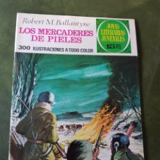 BDs: LOS MERCADERES DE PIELES - JOYAS LITERARIAS JUVENILES. Lote 275303443