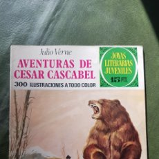BDs: AVENTURAS DE CÉSAR CASCABEL JOYAS LITERARIAS. Lote 275310988