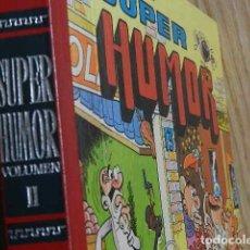 BDs: SUPER HUMOR VOLUMEN II EDITORIAL BRUGUERA AÑO 1984 13 RUE PERCEBE MORTADELO FILEMÓN ZIPI ZAPE.... Lote 275314488