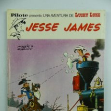 Tebeos: LUCKY LUKE - JESSE JAMES - PILOTE / BRUGUERA. Lote 275609723