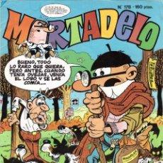 Tebeos: COMIC MORTADELO, Nº 178 - EDICIONES B, AÑO 1991. Lote 275718593