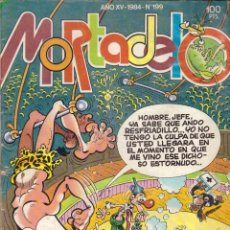 Tebeos: COMIC MORTADELO, Nº 199 - BRUGUERA, AÑO 1984. Lote 275719068