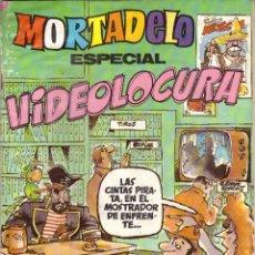 Tebeos: COMIC MORTADELO, Nº 192: ESPECIAL VIDEOLOCURA - BRUGUERA, AÑO 1985. Lote 275720718