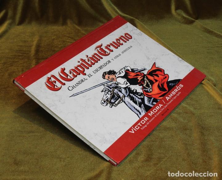 EL CAPITÁN TRUENO,CHANDRA EL USURPADOR Y OTRAS AVENTURAS,VÍCTOR MORA/AMBRÓS,EDICIONES B,2006 (Tebeos y Comics - Bruguera - Capitán Trueno)