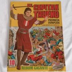 Tebeos: EL CAPITÁN TRUENO PROMESA CUMPLIDA ÁLBUM GIGANTE Nº1 1964. Lote 275759393