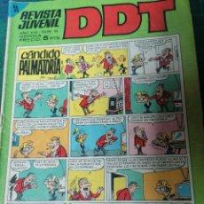 Livros de Banda Desenhada: DDT. AÑO XVII- N. 25. Lote 275985503