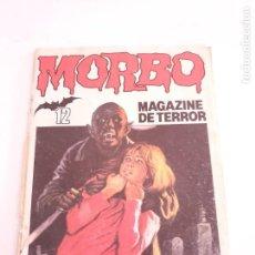 Tebeos: MORBO Nº 12 MAGAZINE DE TERROR ESTADO NORMAL MAS ARTICULOS NEGOCIABLE. Lote 276003378