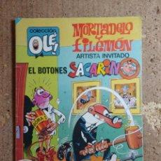 Livros de Banda Desenhada: COMIC DE OLE MORTADELO Y FILEMON ARTISTA INVITADO EL BOTONES SACARINO DEL AÑO 1984 Nº 300. Lote 276008973