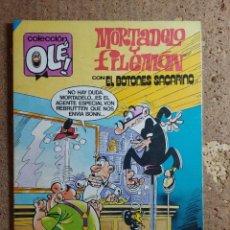 Livros de Banda Desenhada: COMIC DE OLE MORTADELO Y FILEMON CON EL BOTONES SACARINO DEL AÑO 1984 Nº 294. Lote 276009303