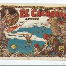 Tebeos: EL CACHORRO Nº 46 (ED. BRUGUERA), ORIGINAL 1953. BUEN ESTADO, SIN GRAPA. Lote 276020313