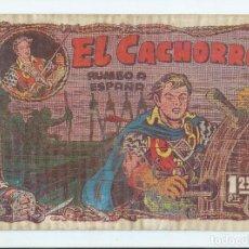 Tebeos: EL CACHORRO Nº 91 (ED. BRUGUERA), ORIGINAL 1954. ACEPTABLE ESTADO. Lote 276021238