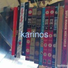 Giornalini: LOTE DE SUPER HUMOR, FAMOSAS NOVELAS, ETC.... Lote 276027733