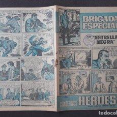 Tebeos: CUADERNOS HÉROES BRUGUERA Nº 23 BRIGADA ESPECIAL Nº 6. Lote 276184478