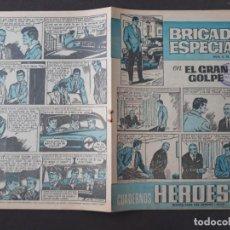 Tebeos: CUADERNOS HÉROES BRUGUERA Nº 19 BRIGADA ESPECIAL Nº 5. Lote 276184563