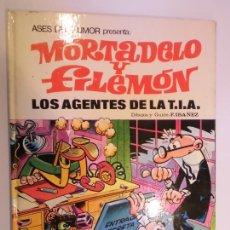 Tebeos: ASES DEL HUMOR NUM 16 MORTADELO Y FILEMON – LOS AGENTES DE LA T.I.A. - PRIMERA EDICION. Lote 276200938