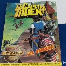Tebeos: REVISTA EL CAPITÁN TRUENO Nº 84 - ¡EL ATAQUE! - EDICIÓN HISTÓRICA - EDICIONES B 1987. Lote 276208568